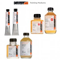 Cobra Water-Mixable Oil Painting Mediums & Paste