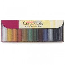 Cretacolor Art Chunky Charcoal Set Set of 12 Pieces