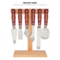 Creative Mark Painter's Edge Xl Palette Knife And Stand Set