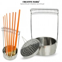 Creative Mark Stainless Steel Brush Washer and Dryer