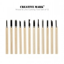 Wood and Lino Cutting Tool Set of 12