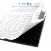 Crescent Perfect Mount Self-Adhesive Mounting Board
