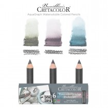 Cretacolor Aquarelle Watersoluble Colored Pencils