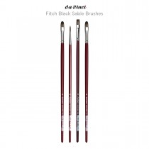 Da Vinci Fitch Black Sable Brushes