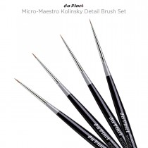 Da Vinci Micro-Maestro Kolinsky Detail Brush Set
