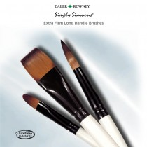 Simply Simmons Extra Firm Long Handle Brushes