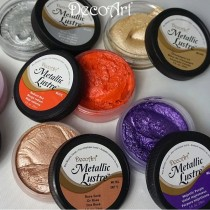 DecoArt Metallic Lustre Wax Paint