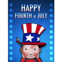 Fouth of July Art eGift Card - Lil Jerry - electronic gift card eGift Card