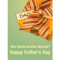 Father's Day Art eGift Card - Necktie - electronic gift card eGift Card