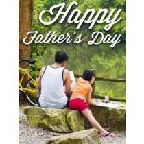 Father's Day Art eGift Card - Father and Daughter eGift Card