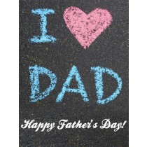 Father's Day Art eGift Card - Sidewalk Chalk eGift Card