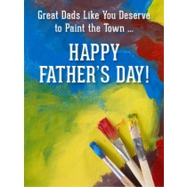 Father's Day Art eGift Card - Paint the Town eGift Card