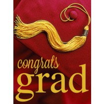 Graduation - Red Graduation Cap eGift Card
