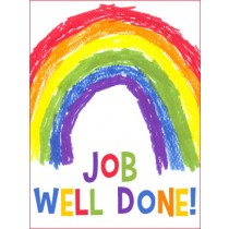 Kids Art eGift Card - Job Well Done Rainbow eGift Card
