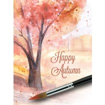 Thanksgiving Art eGift Card - Painted Fall Landscape - electronic gift card eGift Card eGift Card