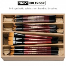 Creative Mark Ebony Splendor Brush Class Packs 144 Count