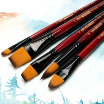Ebony Splendor Long-Handled Brushes