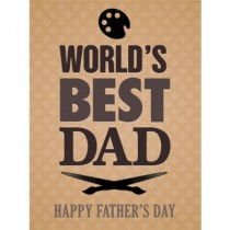Happy Father's Day 2014 - Brown eGift Card