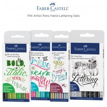 Faber-Castell PITT Artist Hand Lettering India Ink Pen Sets