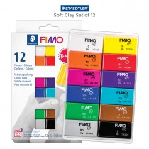 Fimo Clay Set of 12