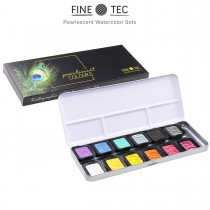 Fine-Tec Artist Pearlescent Watercolor Sets