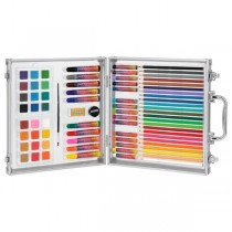 First Impressions Complete Art Set for Kids - 78 Piece Non-Toxic