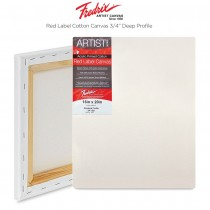 "Fredrix Red Label Canvas ¾"" profile"