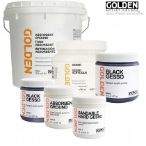 Golden Gesso Primers And Grounds