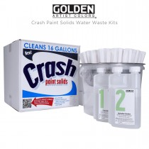 GOLDEN Crash Paint Solids Water Waste Kits
