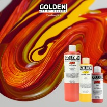 Golden Fluid Acrylics - Highly Intense Acrylics