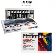 GOLDEN Open Acrylic Paint Sets