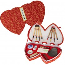 Double Heart Chinese Calligraphy Set II