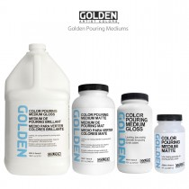 Golden Pouring Mediums