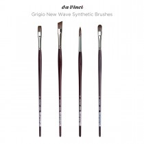 Da Vinci Grigio New Wave Synthetic Brushes