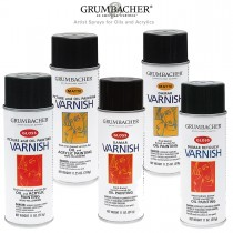 Grumbacher Artist Sprays Oil & Acrylic Painting