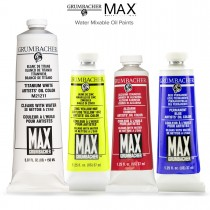Grumbacher Max Artists' Water Mixable Oil Colors