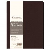 """Strathmore 400 Series Toned Grey Mixed Media Journals 8.5x11"""""""
