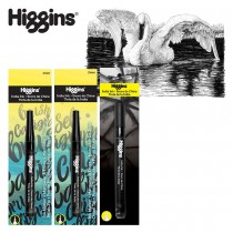 Higgins Black Magic and India Ink Pump Markers