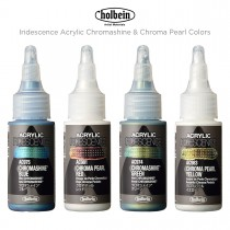 Holbein Iridescence Acrylic Chromashine & Chroma Pearl Colors
