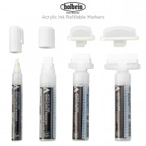 Holbein Acrylic Ink Refillable Markers
