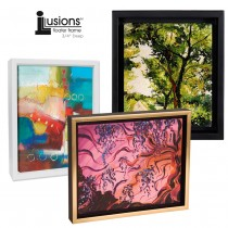 "Canvas Floater Frame 3/4"" Deep- Illusions"