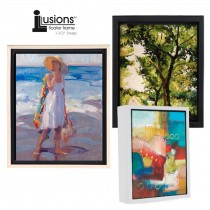 Illusions 1.5 inch Deep Floater Frames