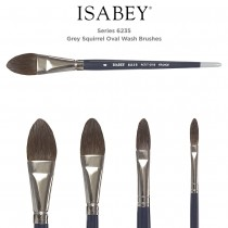 Isabey Series 6235 Squirrel Oval Wash Brush
