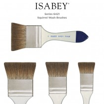 Isabey Series 6421 Squirrel Wash Brushes