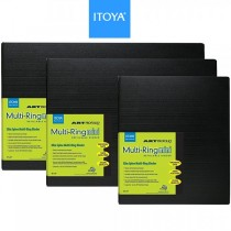 Itoya Art Profolio Multi-Ring Mini Refillable Presentation Binders