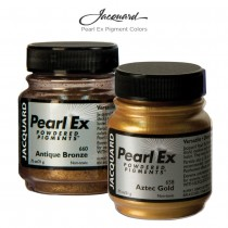 Jacquard Pearl Ex Pigment Colors are a safe, non-toxic, inert powdered pigment with a neutral pH