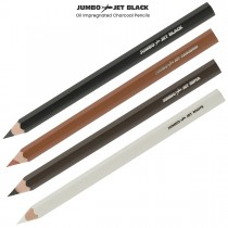 Artist Grade Oil Impregnated Jumbo Charcoal Pencils That Lay Down Extra Thick Color!