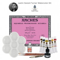 Justin Gerard Signature Turner Watercolor Sets