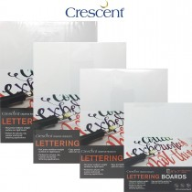 Hot Press medium weight, with rigid core - Crescent Lettering Art Boards