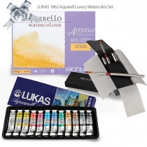 Lukas 1862 Aquarell Watercolor Ultimate Watercolor Set